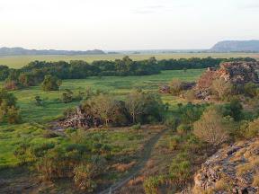 Vue depuis Ubirr rocks