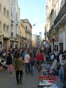 Marché antique de San Telmo