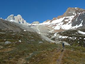 Montée vers le cerro Eléctrico