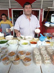 Vendeur de ceviche