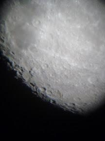 Les cratères de la lune