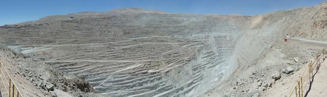 Panoramique de Chuquicamata