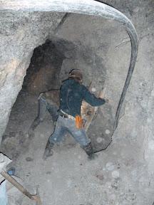 Remontée du minerai