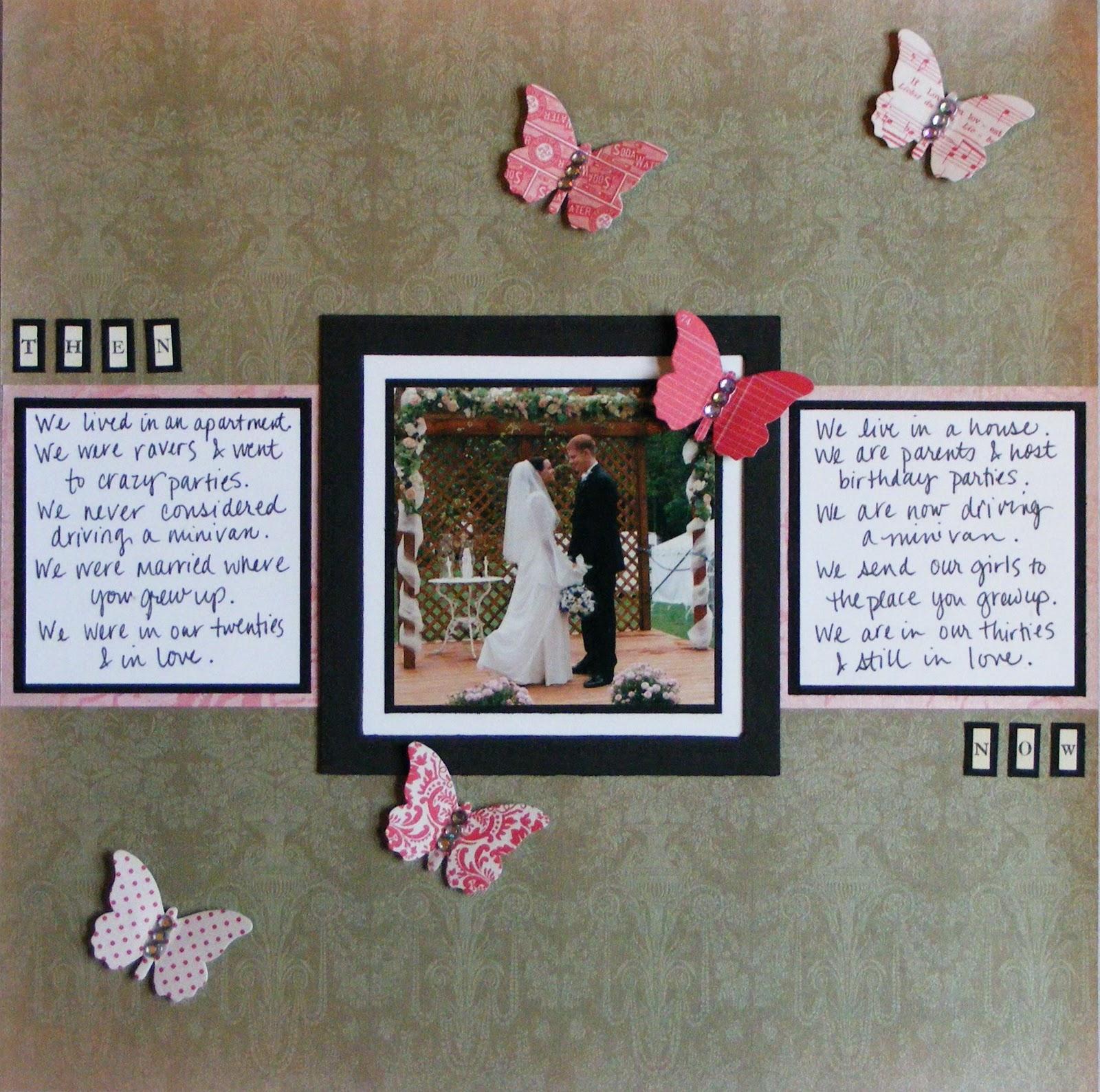 Telas Blog Scrapbooking Wedding Ideas