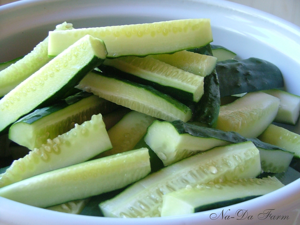 Cucumbers to pickle...
