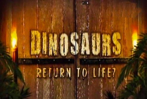 Dinozaury Reinkarnacja / Dinosaurs Return to Life (2008) PL.TVRip.XviD / Lektor PL