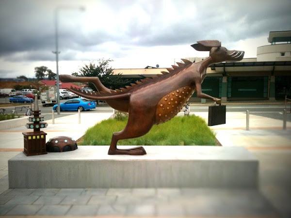 bunyip statue