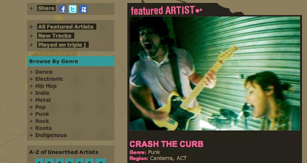 crash the curb