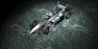 болид Sukhoi F1 car 2