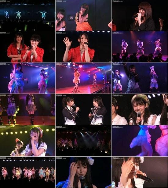 "(LIVE)(公演) AKB48 チーム4 ""アイドルの夜明け"" 大森美優の生誕祭 140912"