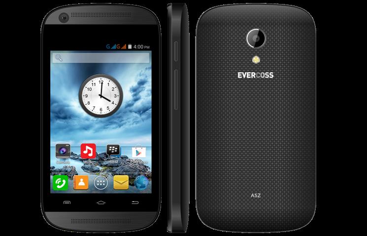 Evercoss A5Z - Spesifikasi Lengkap dan Harga