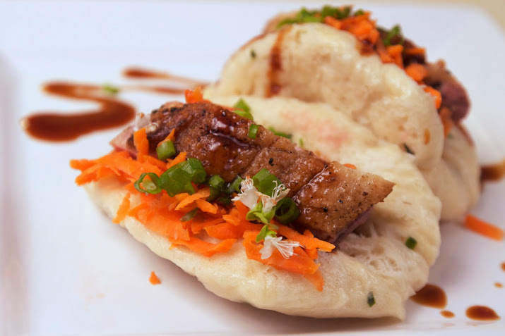 Duck Breast Steamed Bun