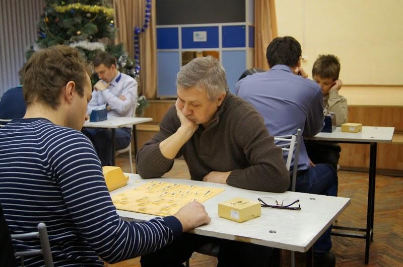 10-й рождественский турнир по сёги – Мемориал Юрия Шпилёва 2016