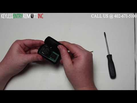 how to replace a toyota rav4 key fob battery 2013