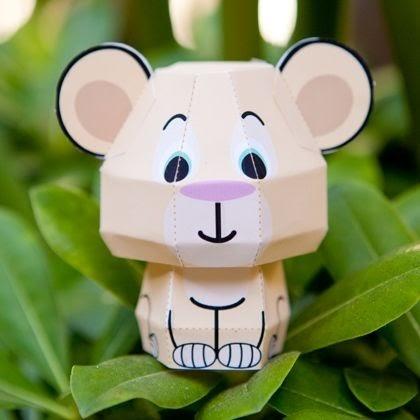 welcometohalloween: nala cutie papercraft, free download