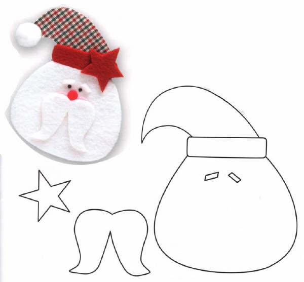 Дед мороз из ткани своими руками шаблоны