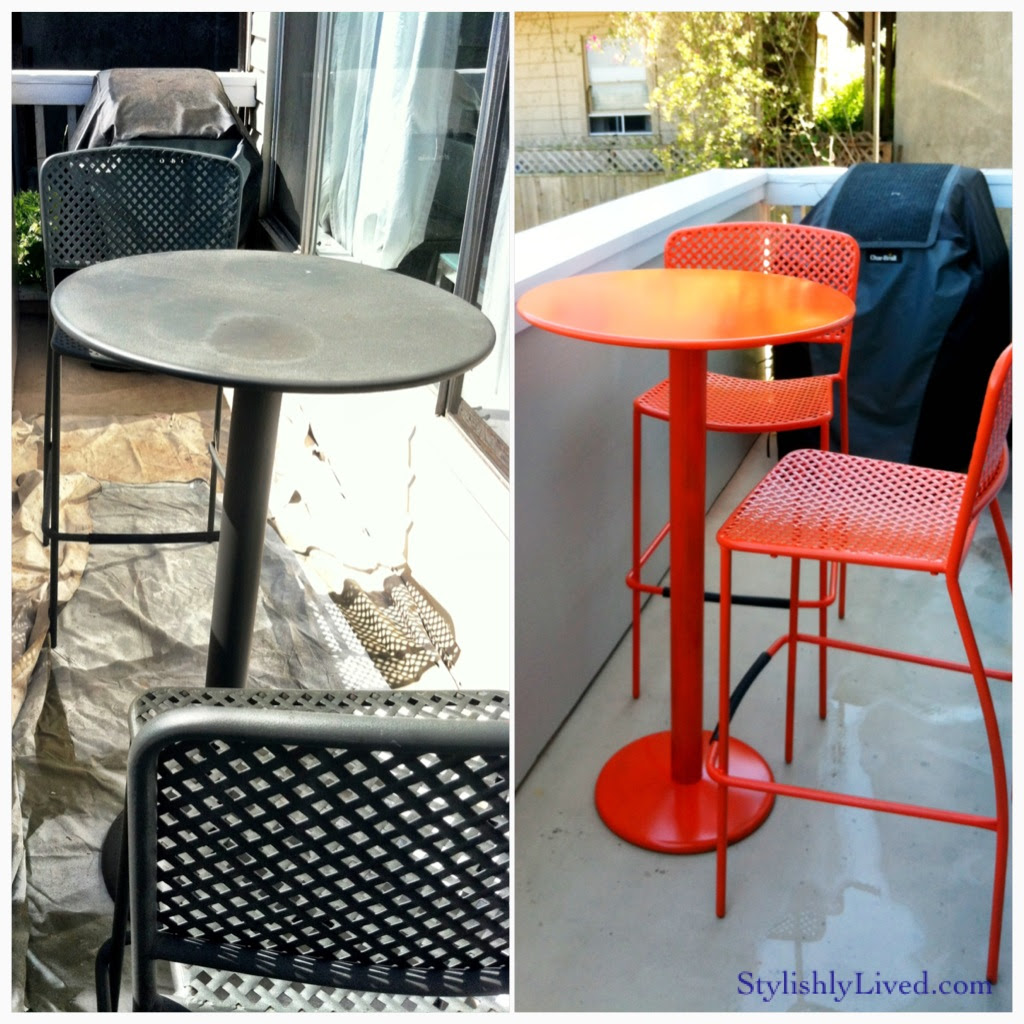 Tall Outdoor Bistro Table - Table Designs