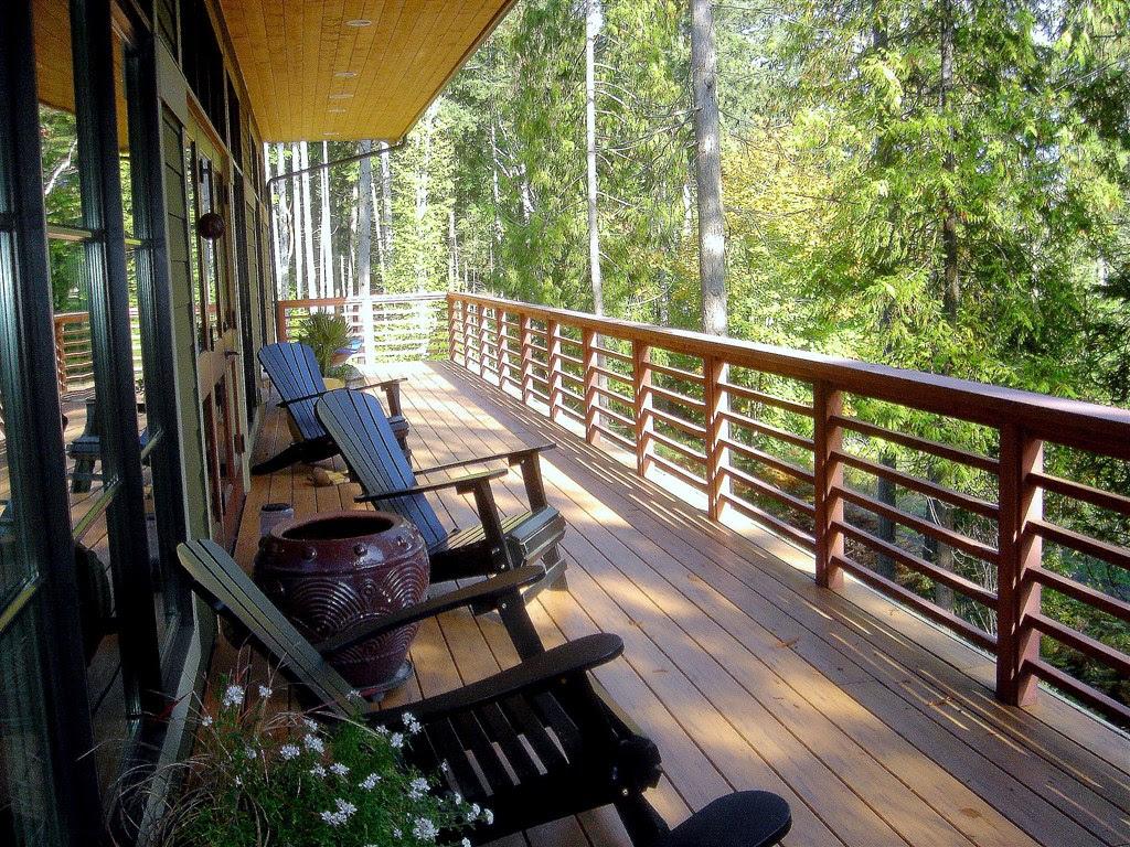 Фото - балконы - идея балкона для вашего загородного дома, ф.