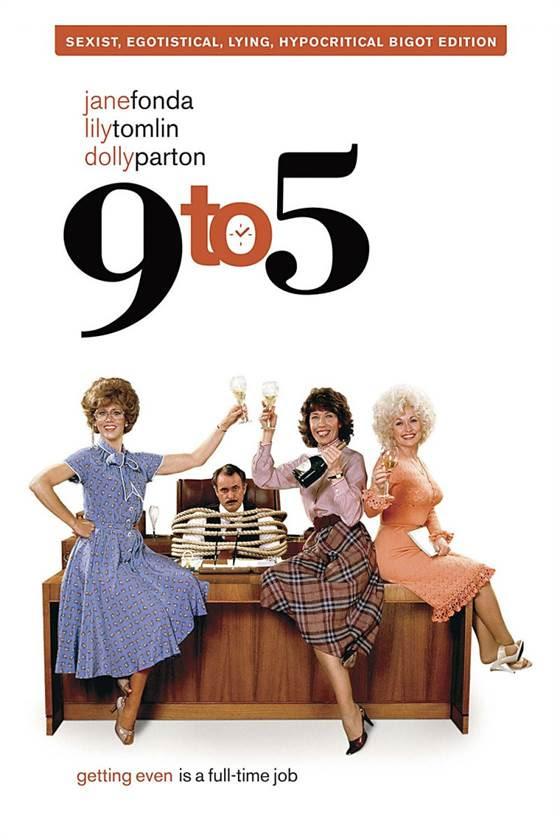 С девяти до пяти nine to five 1980 - фильмы -