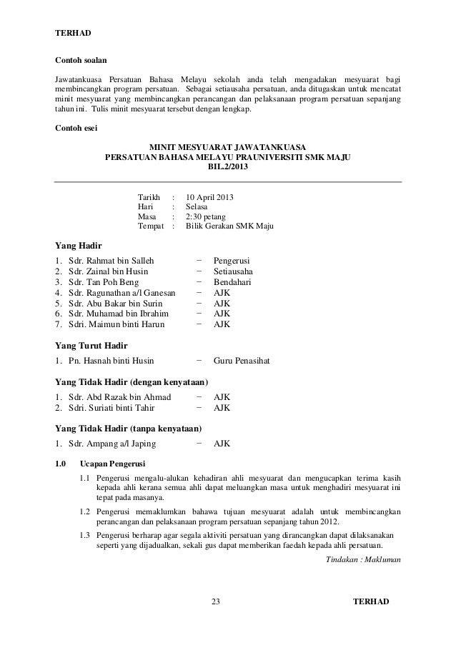 Formal letter format bahasa malaysia formal letter spm writing spiritdancerdesigns Images