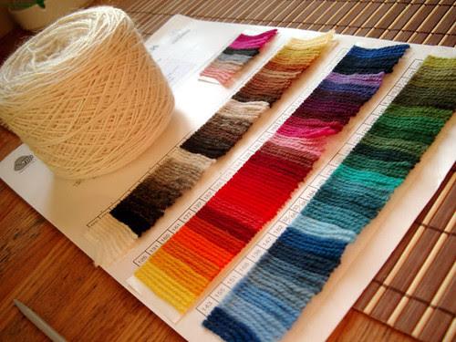 Покрасить шерсть в домашних условиях