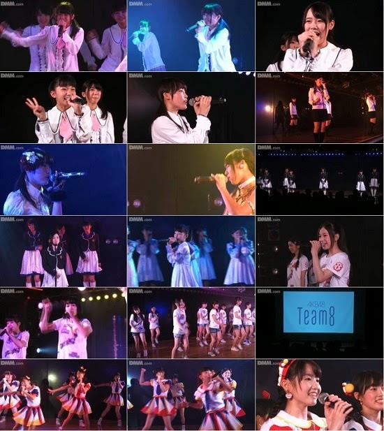 "(LIVE)(公演) AKB48 チーム8 ""PARTYが始まるよ"" 公演 140823 & 140824 & 140826 & 140827"