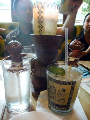 Trader Vic's Portland, Polynesian cuisine and cocktails