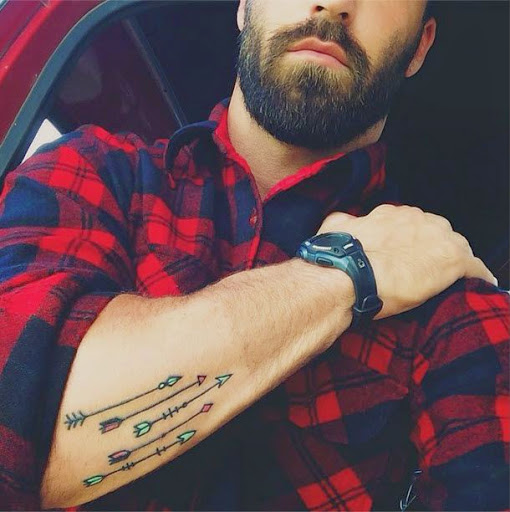 Arrow tattoos forearm