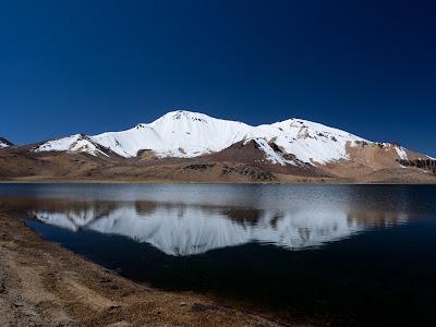 Llacuna Chiar Khota i el volcà Patilla Pata