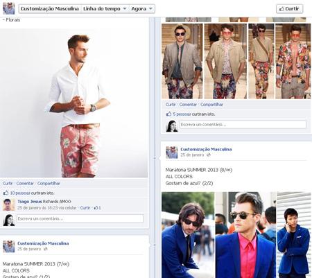 Customização Masculina - dicas de moda