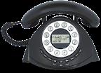 Τηλέφωνο με αναγνώριση κλήσεων Alcatel Termporis Retro
