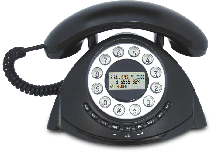 Τηλέφωνο με αναγνώριση κλήσεων Alcatel Temporis Retro