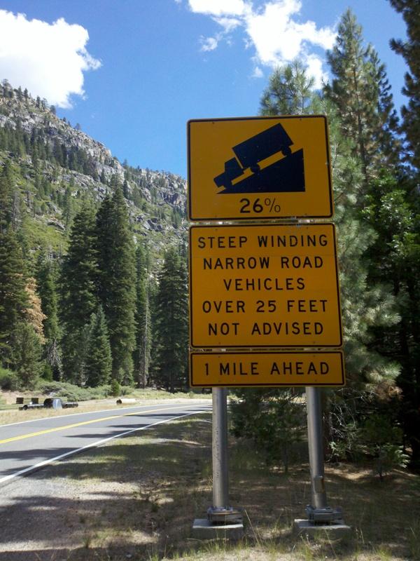 High Sierra • Sonora Pass West