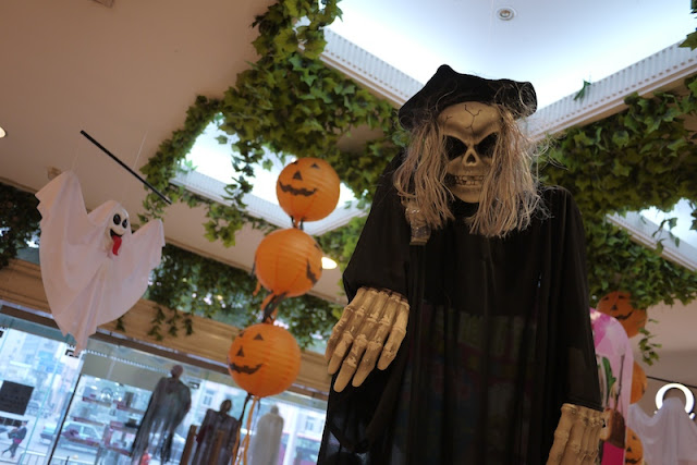 Halloween decorations in Changsha, China