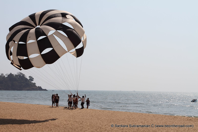 Parasailing at Rajabaga Beach - 5