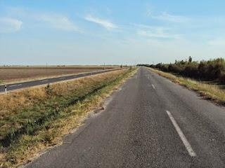 alte Straße als Radweg, sehr komfortabel