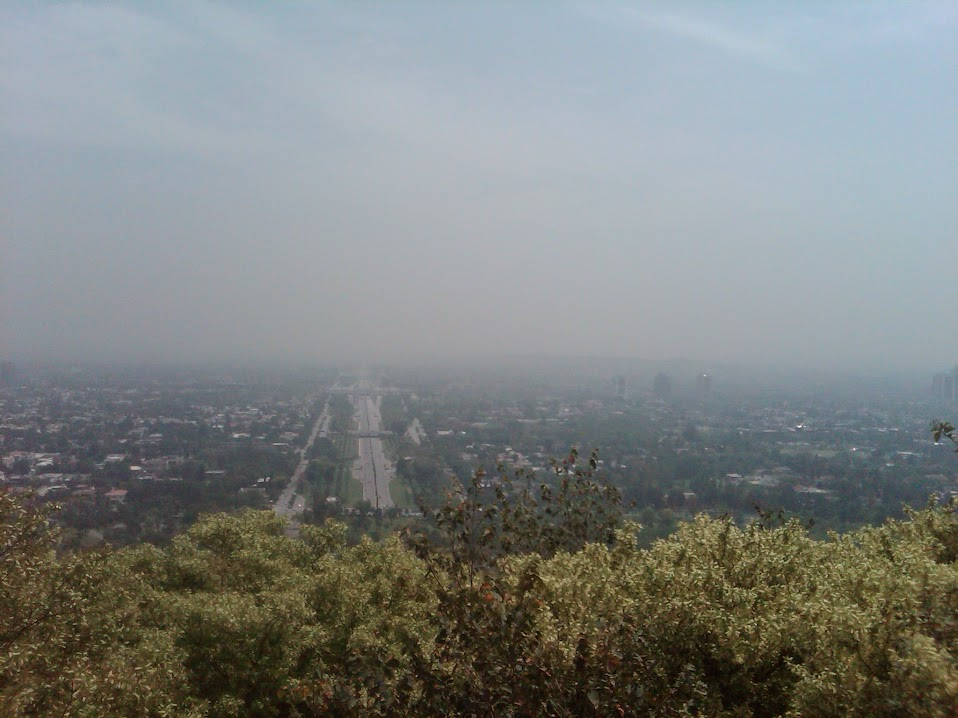 City of Islamabad from Daman-e-Koh