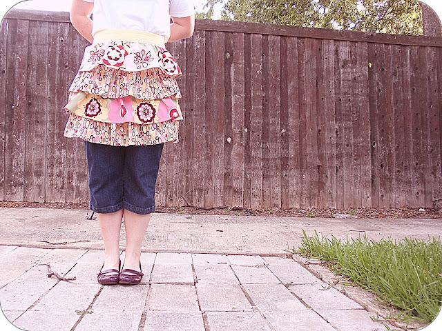 very cute birthday apron