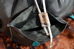 Рюкзак кожаный, ручной работы № 130 Virt