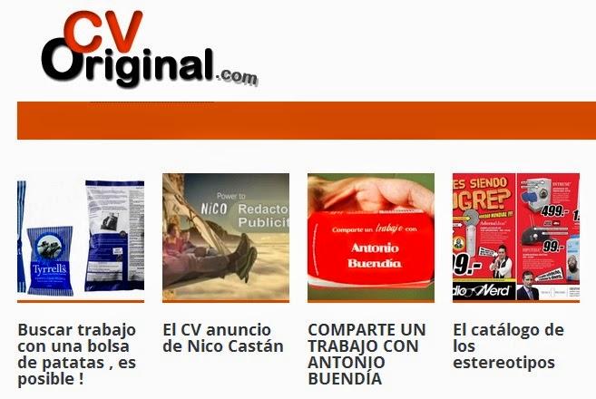 CV Original, una startup que se encarga de elaborar curriculums originales y creativos
