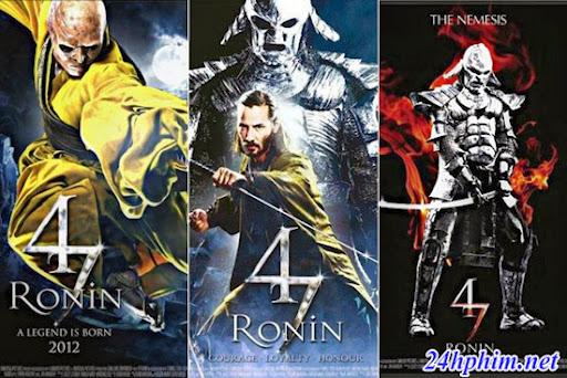 24hphim.net 47 ronin posters 47 Lãng Nhân
