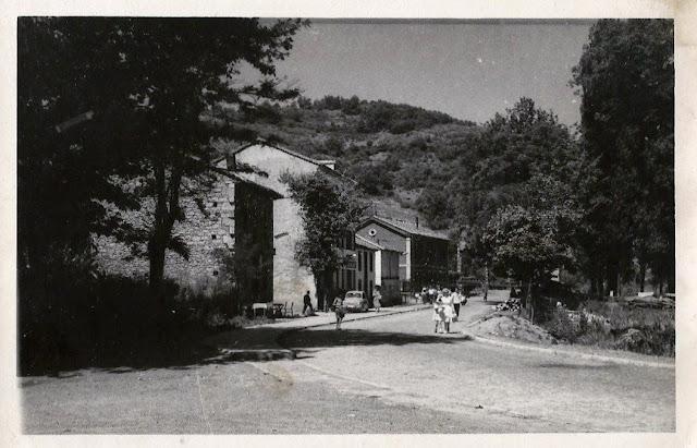 La calle de la estación de La Pola de Gordón