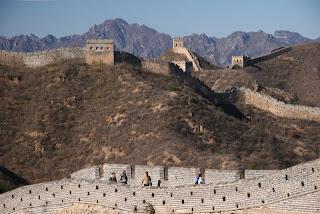 Neturistični del kitajskega zidu