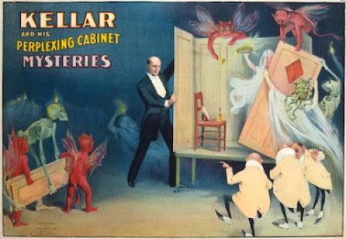 Harry Kellar Spirit Cabinet Pt1