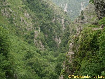 Monumento Natural Desfiladero Xanas, Asturias