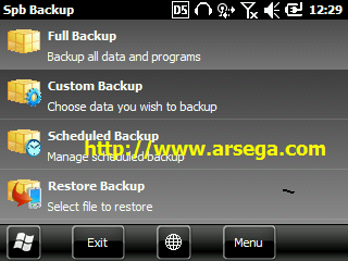 download aplikasi spb backup For windows mobile