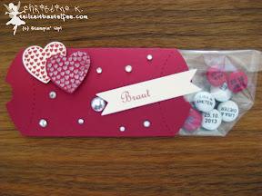 stampin up pillow box hearts a flutter wedding hochzeit bitty banners