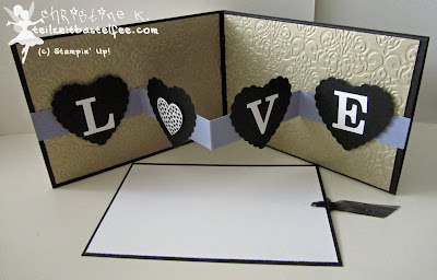 stampin up, love, liebe, wedding, hochzeitskarte, special card, hearts a flutter