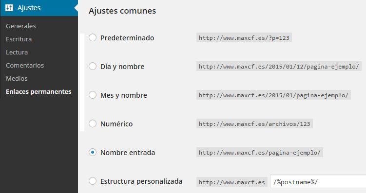Consejos para configurar los enlaces o URLs de tu blog