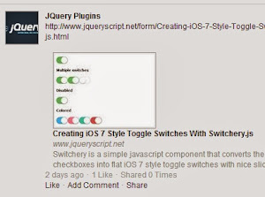 jQuery Plugin To Display Latest Facebook Updates - Facebook Wall